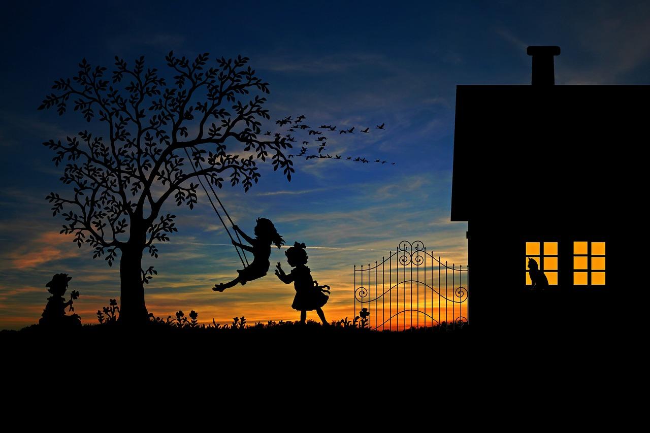 Podwórkowe gry naszego dzieciństwa