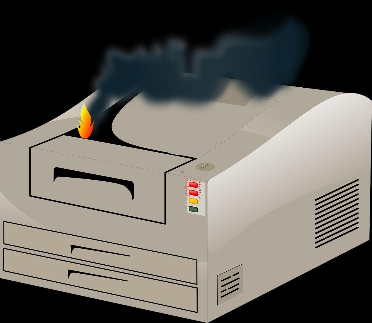 Najczęstsze przyczyny awarii drukarek